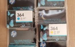 Set n. 5 cartucce originali per stampante HP cod. 364