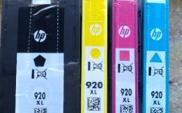 VENDO CARTUCCE STAMPANTE HP 920 XL   NUOVE,  MA SCADUTE